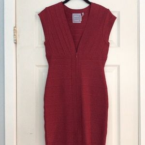 Herve leger bandage dress . Red . Size small